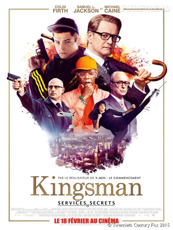 """""""Kingsman : services secrets"""", au cinéma le 18 février."""
