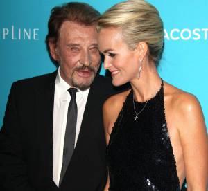 Laeticia Hallyday et Johnny : couple amoureux et super glamour à Hollywood