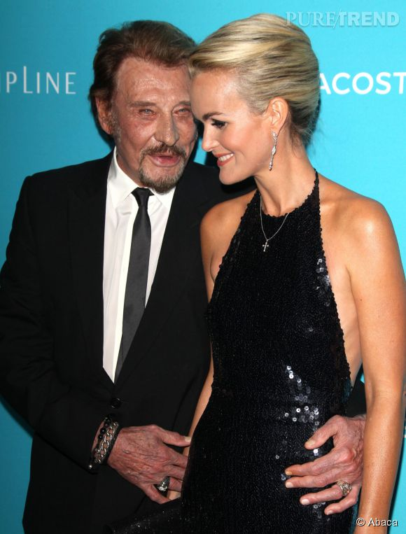 laeticia hallyday et johnny couple amoureux et super. Black Bedroom Furniture Sets. Home Design Ideas