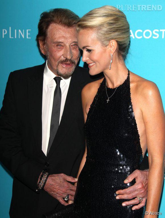 Laeticia Hallyday et Johnny filent le parfait amour depuis plus de vingt ans, leur complicité saute aux yeux.