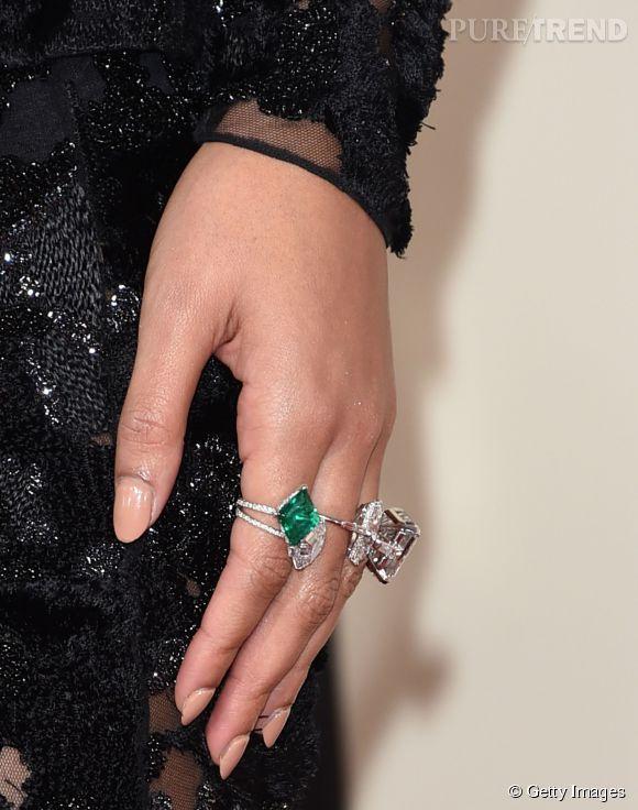 Les bagues Lorraine Schwartz de Beyoncé.