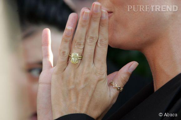 La bague de fiançailles Lorraine Schwartz offerte par Seal à Heidi Klum.