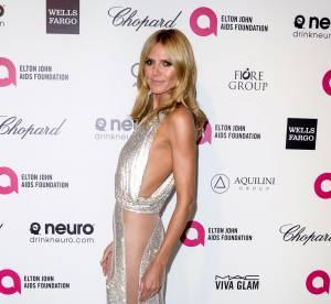 Heidi Klum, Alessandra Ambrosio... : décolletés et fendus pour Elton John