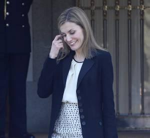 Letizia Ortiz : la reine d'Espagne donne un avant-goût du printemps