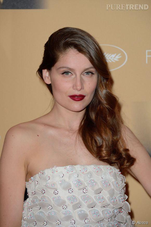 Laetitia Casta, beauté fatale lors du Festival de Cannes en 2014.