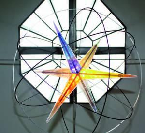 Superstar 2008 de Olafur Eliasson dans son studio de Copenhague par AnneMie Dreves (2014) pour A Magazine curated by Delfina Delettrez SS15.