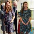 Si toutes les teintes lui vont, on préfère Kate Middleton avec une touche de rouge.