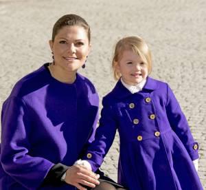 Victoria de Suède et Estelle, assorties en violet : le duo de l'année !