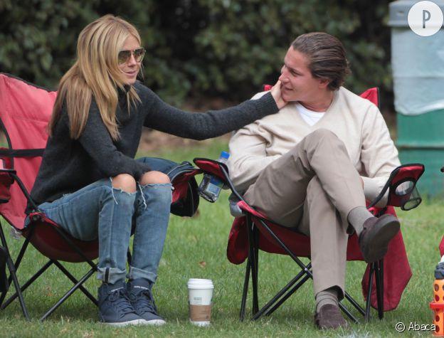 Heidi Klum et son nouveau petit ami, Vito Schnabel.