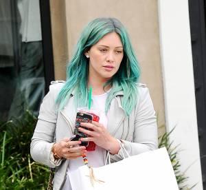 Hilary Duff, son nouveau look grunge : elle passe aux cheveux verts