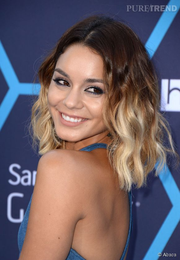 tie and dye blond sur cheveux brun coiffures la mode de cette saison. Black Bedroom Furniture Sets. Home Design Ideas