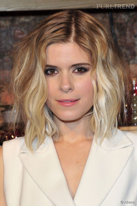 la bonne astuce de kate mara pour adopter le tie and dye sur cheveux courts un effet m ch. Black Bedroom Furniture Sets. Home Design Ideas
