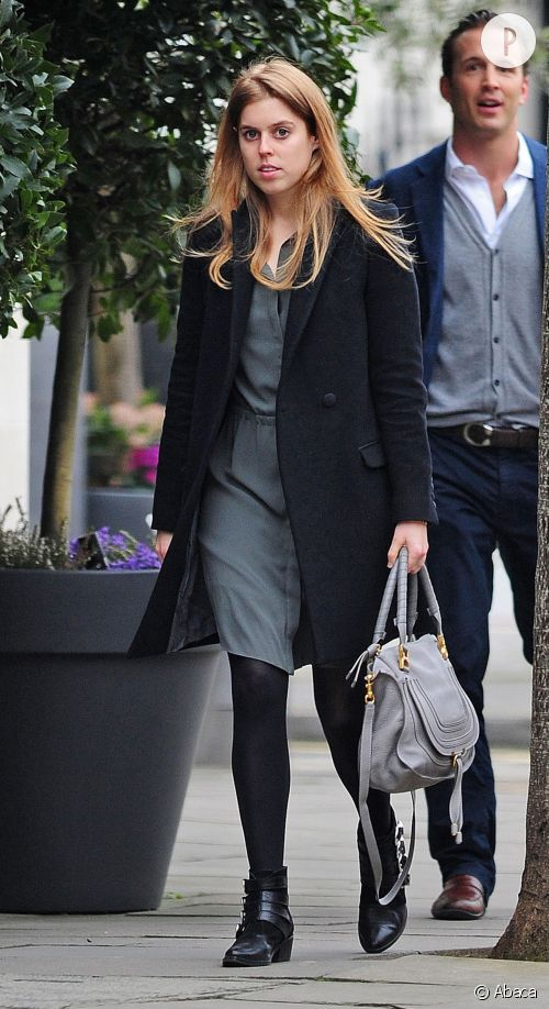 La princesse Beatrice d'York, chic à Londres : un look à shopper.