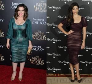 Alyssa Milano VS Camila Alves : la robe transparente Dolce & Gabbana