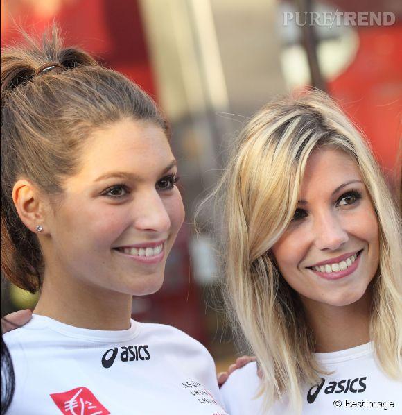 Copines à la ville, Laury Thilleman et Alexandra Rosenfeld se sont retrouvées hier autour d'un dîner 100% Miss France.