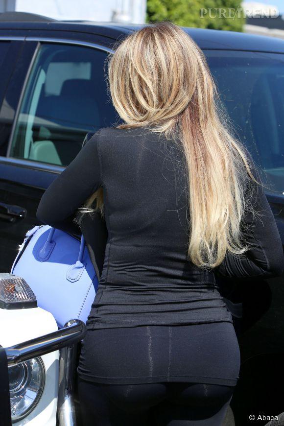 Khloe Kardashian et sa nouvelle tête.