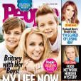 Britney Spears et ses deux garçons, en une de  People.