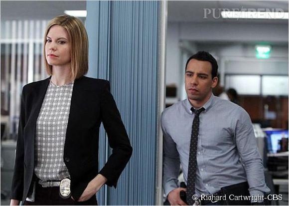 Mariana Klaveno (l'agent Janice Lawrence) et Victor Rasuk (l'agent Ben Caldwell), les bons seconds rôles de la série.