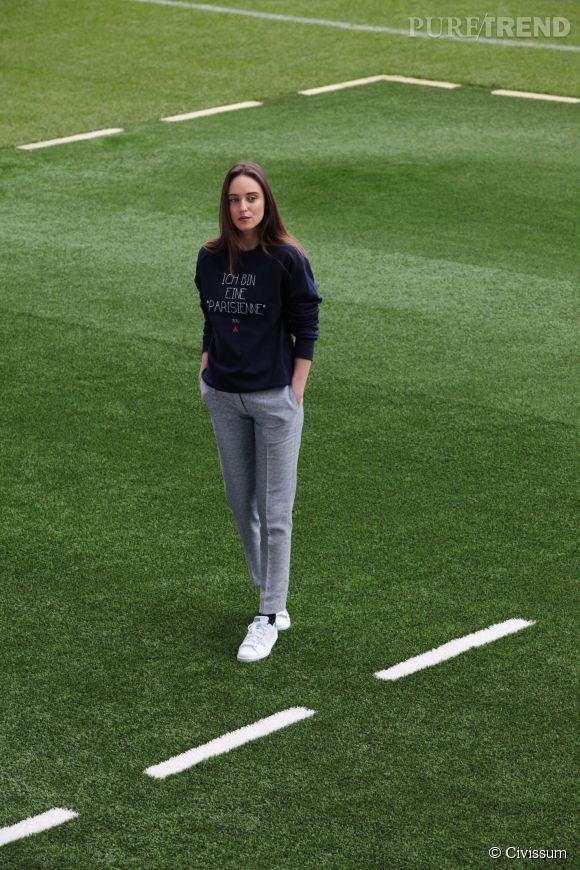 Civissum x PSG : la collaboration sport et mode.
