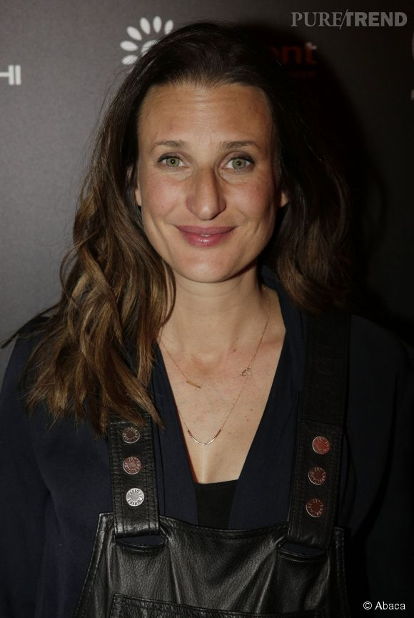 Camille Cottin, une future maman au top.