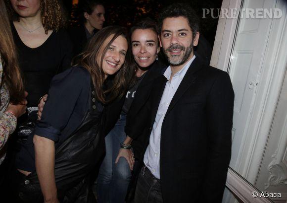 Camille Cottin était entourée de ses amis Elodie Bouchez et Manu Payet.