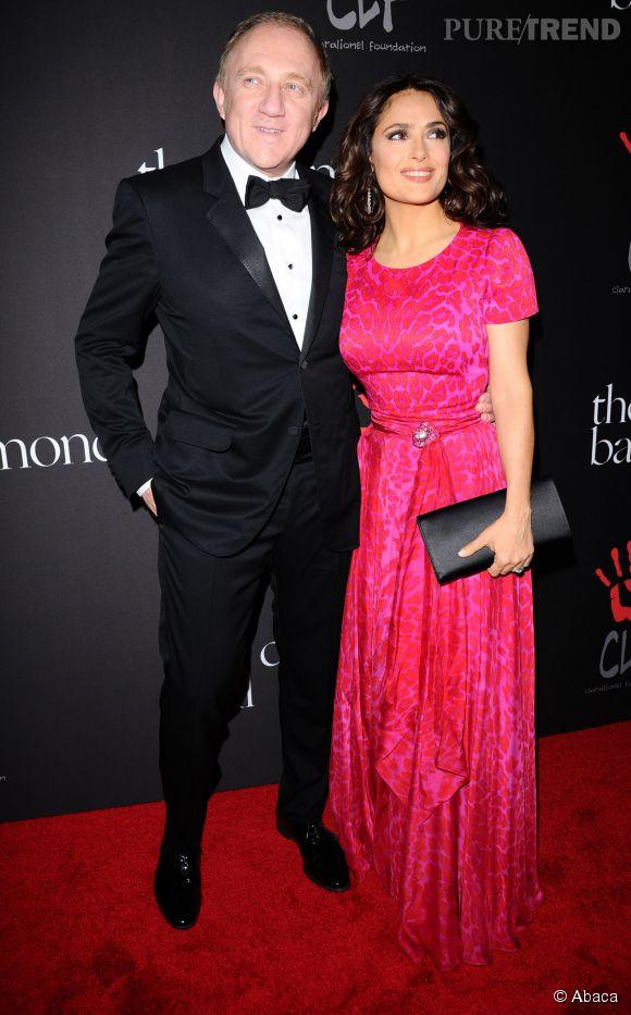 Salma Hayek et son mari, François-Henri Pinault.