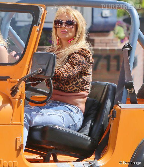 Britney Spears a été choquée par les photos de ses bourrelets parues dans la presse.