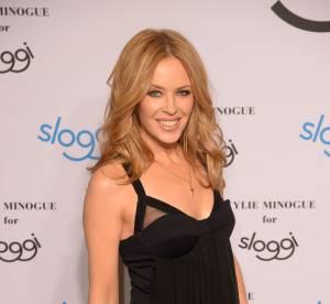 Kylie Minogue : promo de lingerie sexy à Berlin