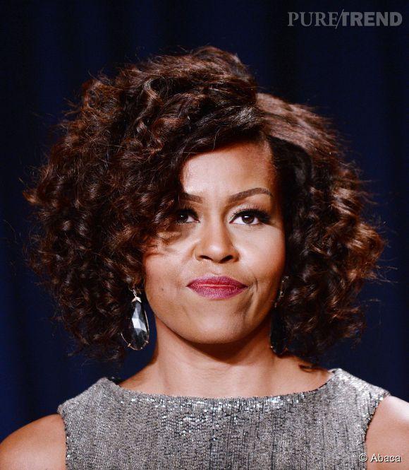 La First Lady a dévoilé sa nouvelle coupe au dîner des correspondants.