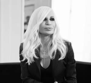 """Donatella Versace, la nouvelle égérie de la campagne """"Givenchy Family"""" de Givenchy."""