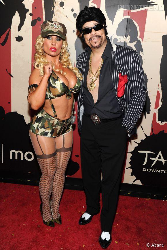 Coco Austin et Ice-T, un couple très distingué.
