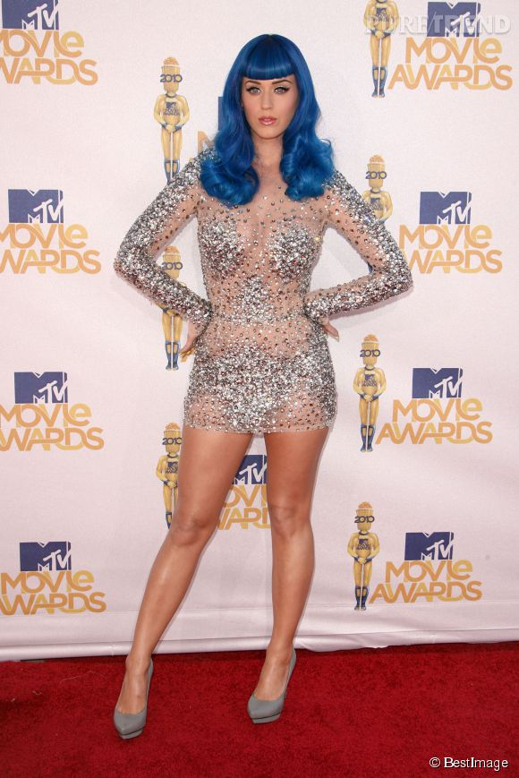 Katy Perry pour les MTV Awards 2010