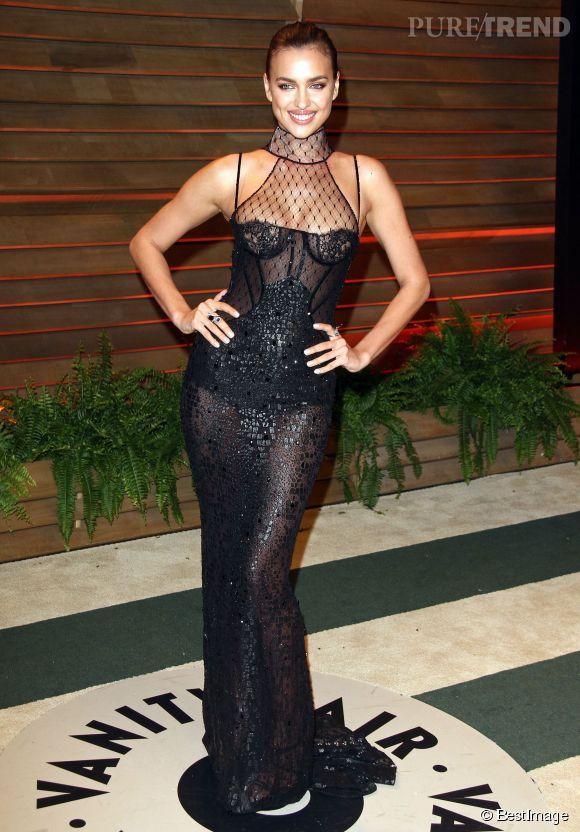 Irina Shayk à la soirée Vanity Fair en 2014