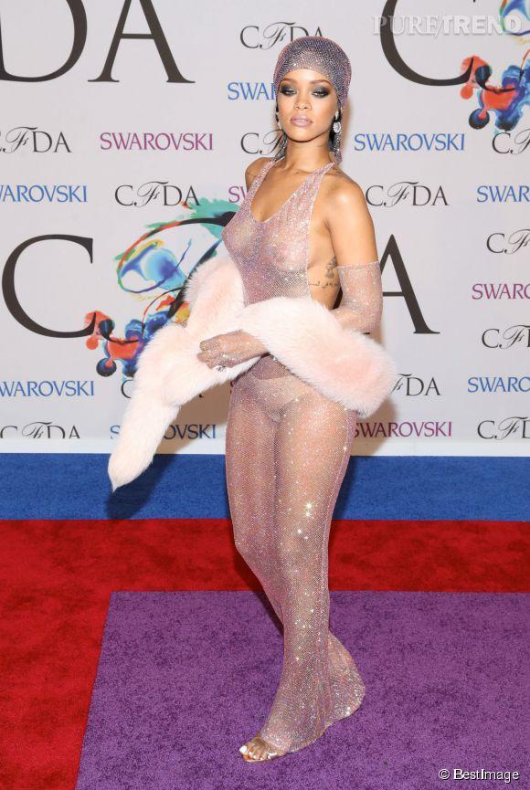 Rihanna aux CFDA Awards en 2013
