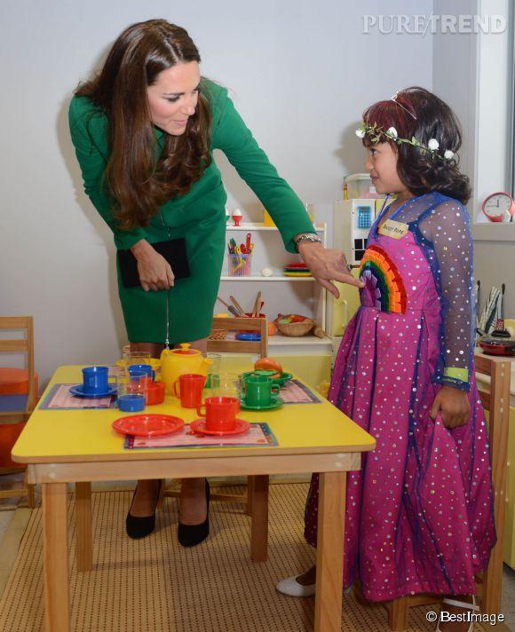 Kate Middleton est très engagée auprès des enfants malades.