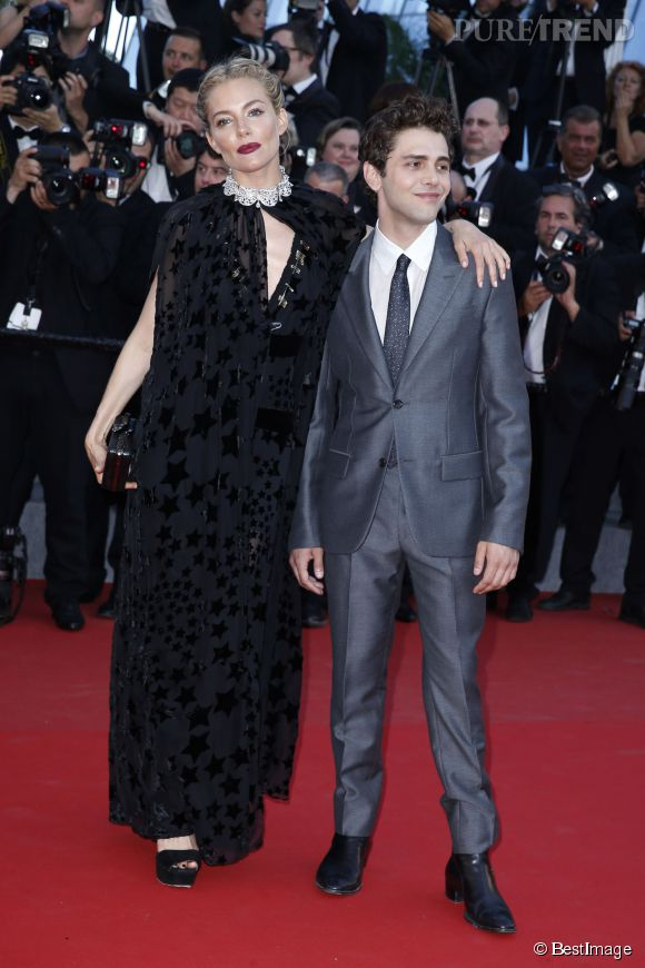 Les membres du jury de Cannes 2015, Sienna Miller et Xavier Dolan, très élégants.