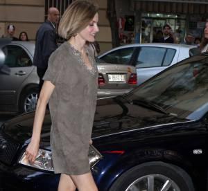 Letizia d'Espagne : la reine dévoile ses superbes jambes en mini robe sexy