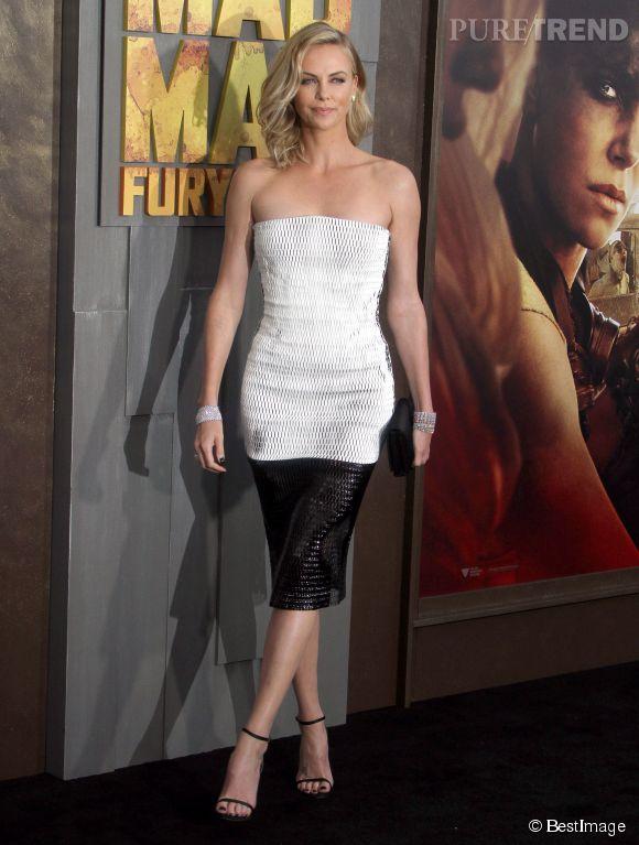 """Avant Cannes 2015, Charlize portait déjà la """"Minny"""" avec brio."""