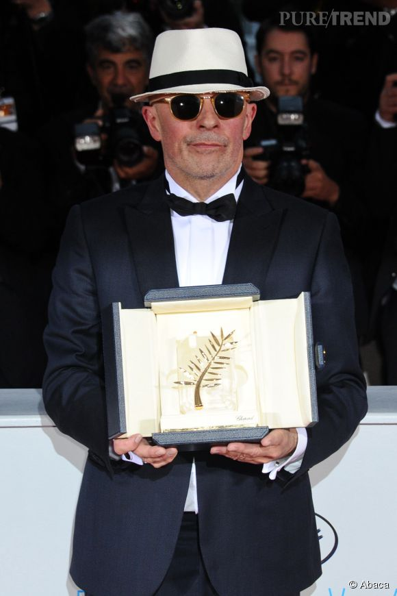 "Jacques Audiard remporte la Palme d'or pour ""Dheepan""."