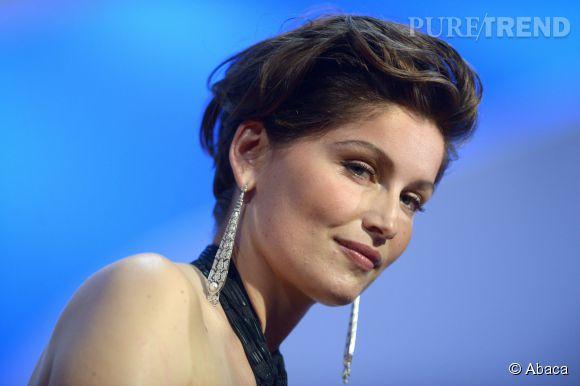 Letitia Casta parée par Cartier lors du Festival de Cannes 2015.