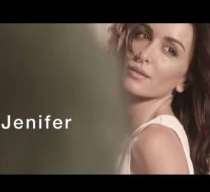 Jenifer dans le nouveau spot de La Halle.