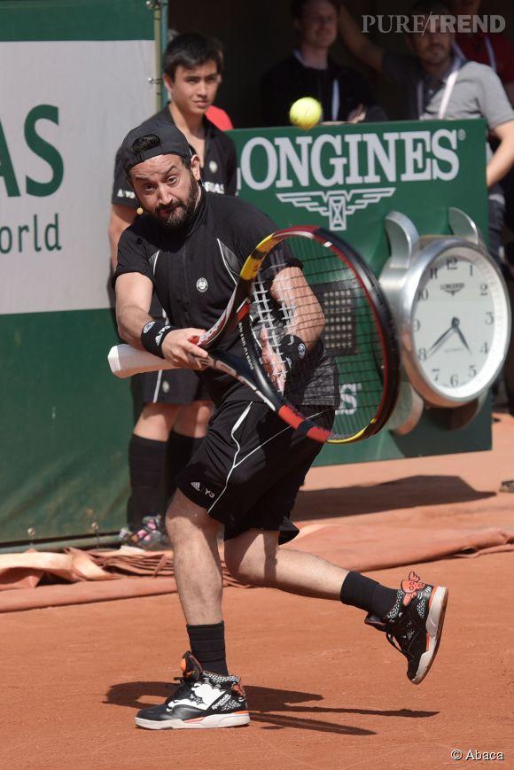 Mais Cyril Hanouna n'a que faire des attaques de Laurent Ruquier, ce week-end il participait aux Trophées des personnalités à Roland Garros.