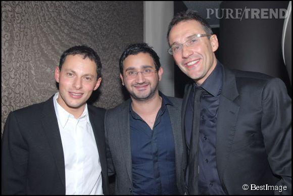 Cyril Hanouna peut bien ne pas être copain avec Laurent Ruquier. Des amis à la télé il en a déjà des tas!