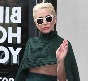 Lady Gaga : sexy pour rencontrer le prince Harry et à moitié nue à Londres
