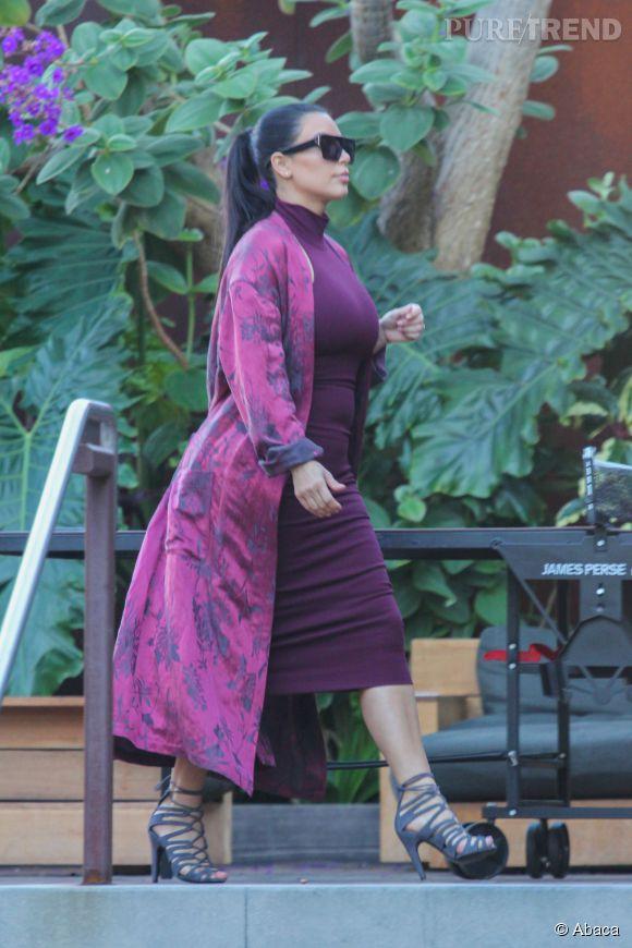 Kim a pris un de poids, mais que ça plaise ou non elle assume !