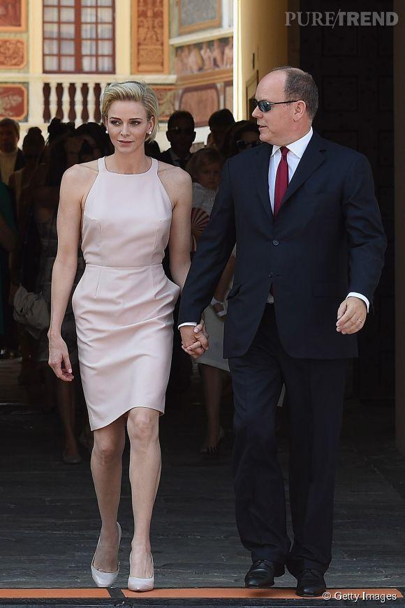 Charlène de Monaco était ravissante pour faire sa déclaration au prince