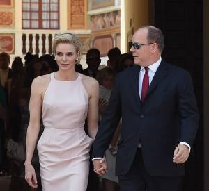 Charlène de Monaco pour les dix de règne d'Albert