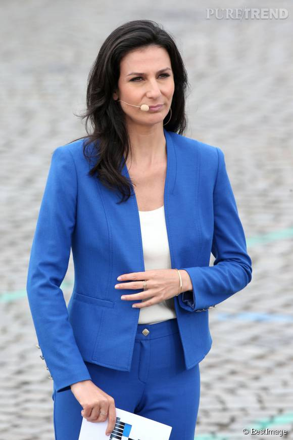 Marie Drucker commentera le défilé du 14 juillet sur France 2, exactement comme en 2014.