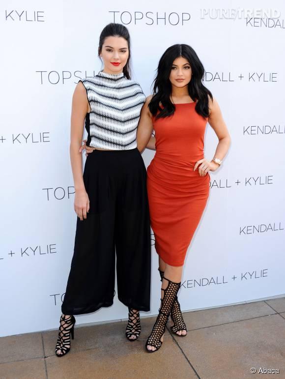En juin dernier, Kendall et Kylie Jenner collaboraient avec la marque Topshop.