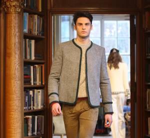 Baptiste Giabiconi, mannequin phare de tous les défilés Chanel.